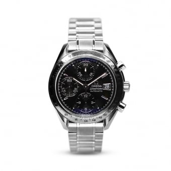 Omega Steel Speedmaster Gents Chronograph Watch 3515.50