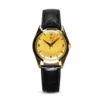 Omega Vintage 9ct Yellow Gold Dress Watch Cal.420 Circa 1956