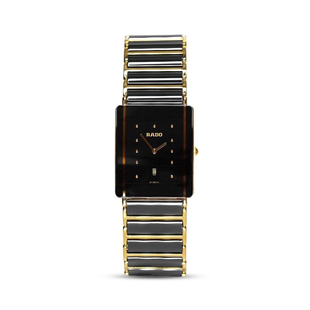 Preowned Rado Steel Amp Ceramic Diastar Mens Watch 16002823