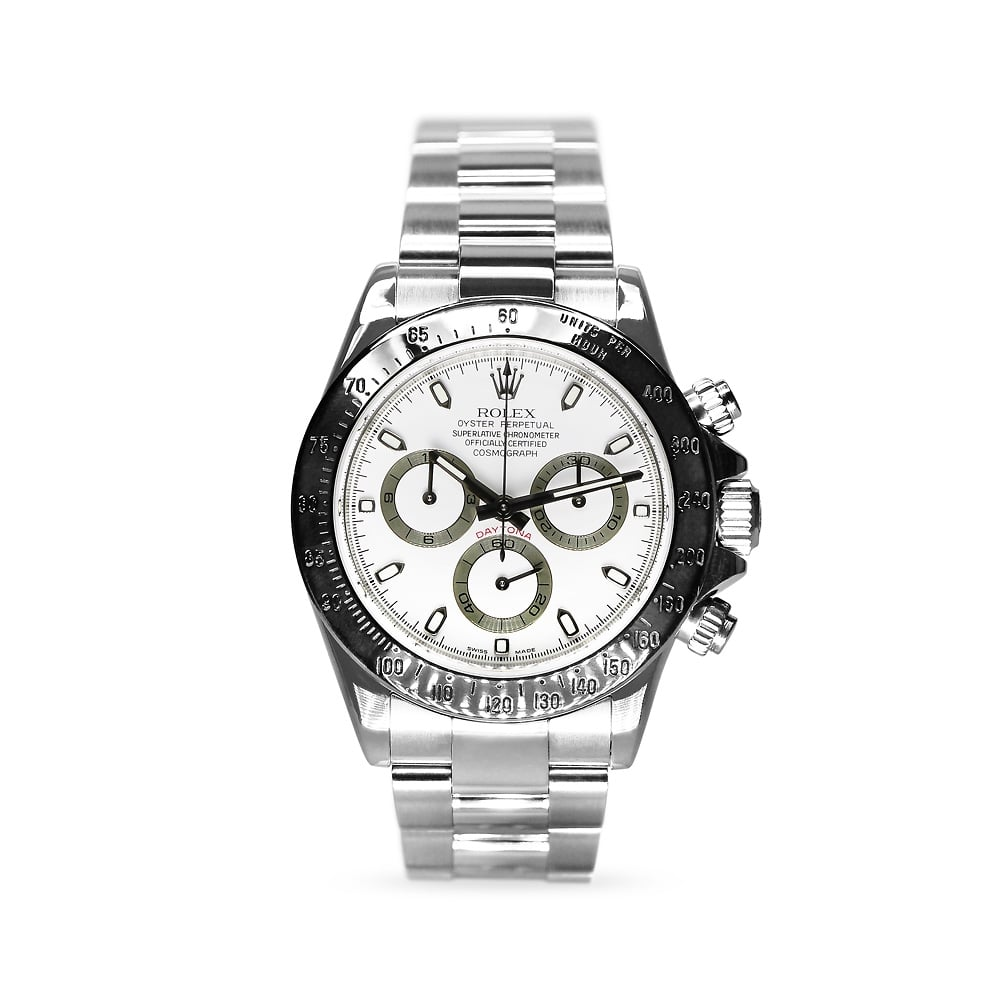 Preowned Rolex Oyster Perpetual Cosmograph Daytona Steel