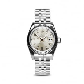 Rolex Oyster Perpetual Datejust Steel Ladies Watch 179174