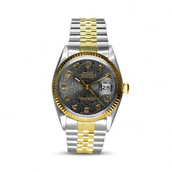 Rolex Oyster Perpetual Datejust Steel & Yellow Gold 16014