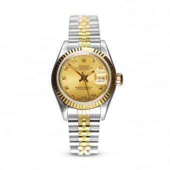 Rolex Oyster Perpetual Steel & Gold Ladies Datejust 69173