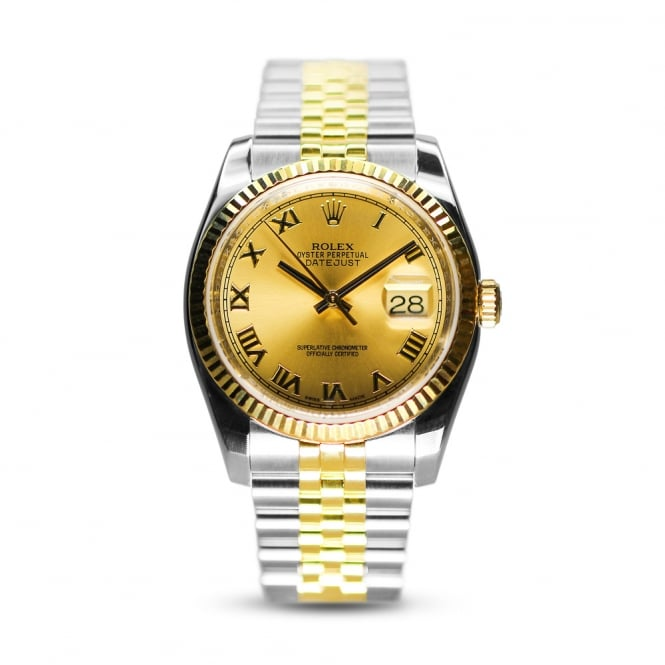 Rolex Oyster Perpetual Steel & Yellow Gold Datejust 116233