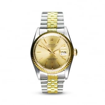 Rolex Oyster Perpetual Steel & Yellow Gold Datejust 16223