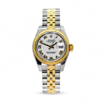 Rolex Oyster Perpetual Steel & Yellow Gold Datejust 179173