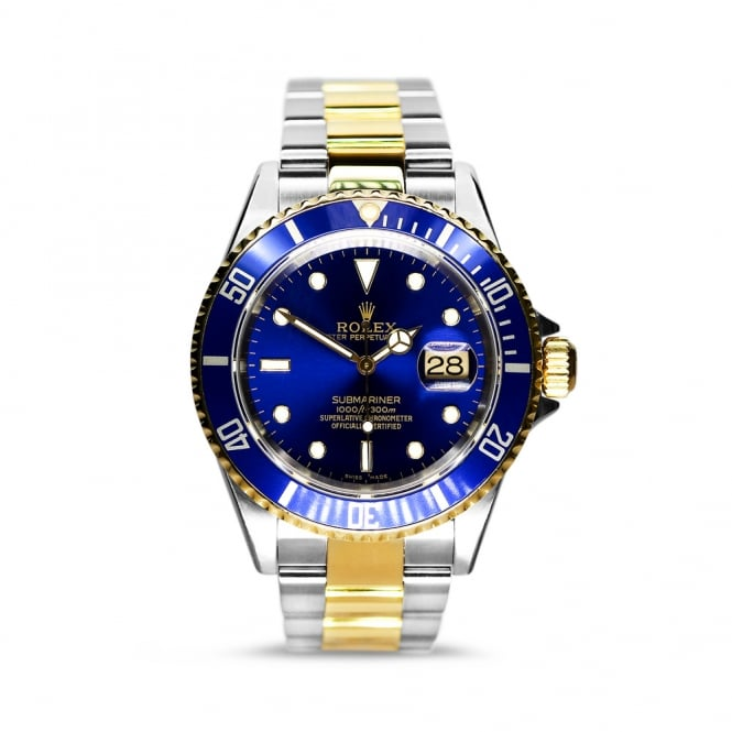 Rolex Oyster Perpetual Submariner Steel & Yellow Gold 16613