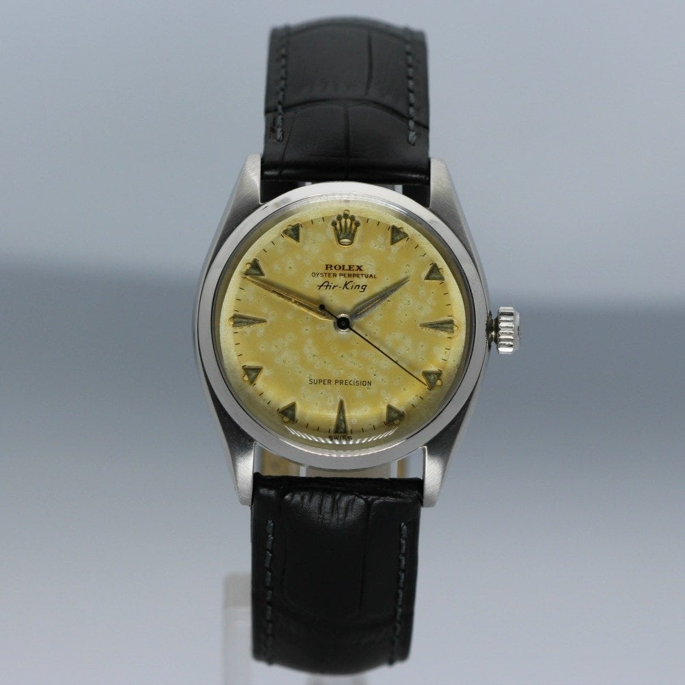 Oyster Perpetual Vintage Air King Steel Gents Watch 5500