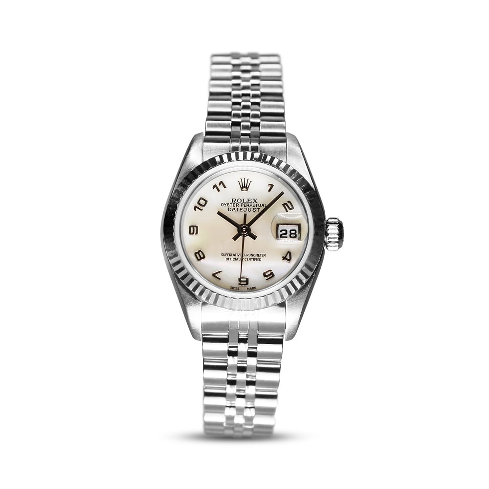 Preowned Rolex Oyster Perpetual Datejust Ladies Steel Watch 79174 0c1d5ae164