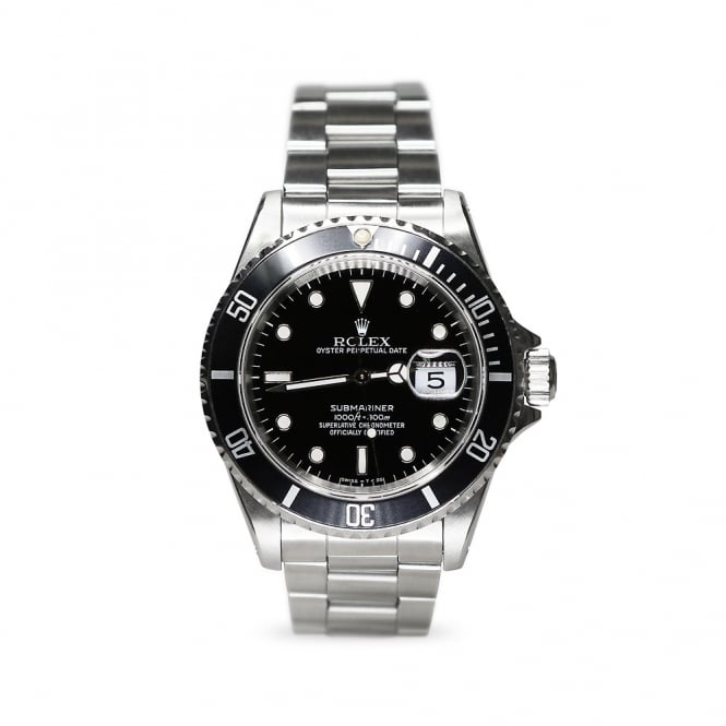 Rolex Steel Submariner 16610