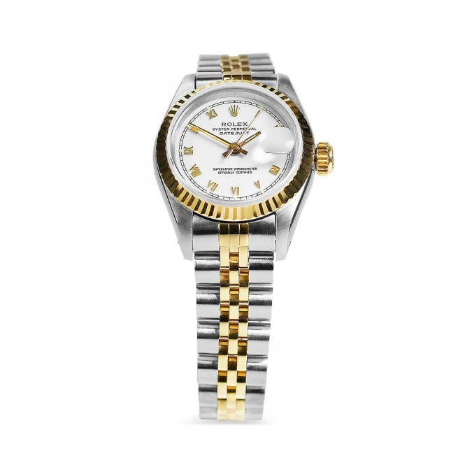 Rolex Steel & Yellow Gold Datejust 69173