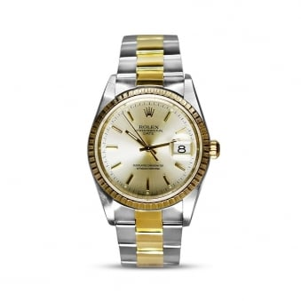 Rolex Steel & Yellow Gold Midsize Date 15223