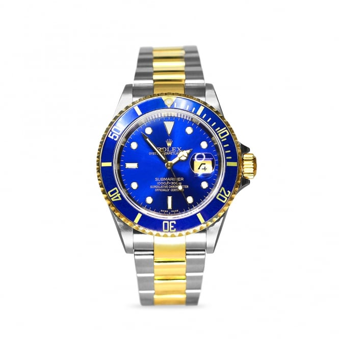 Rolex Steel & Yellow Gold Submariner 16613