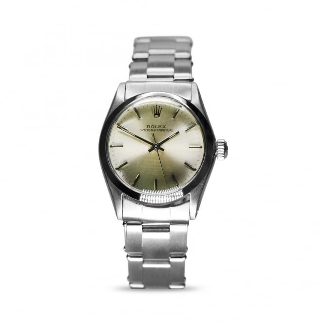Rolex Vintage Oyster Perpetual Steel Gents Watch 6551