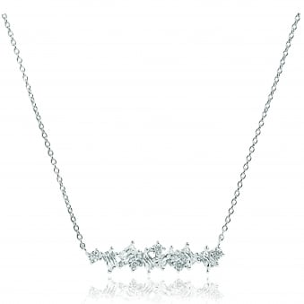 Sif Jakobs Antella Necklace with White Zirconia