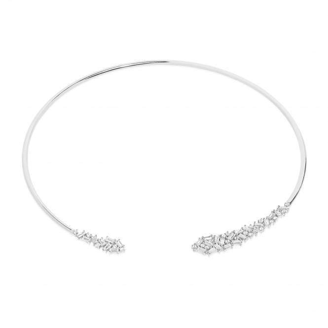 Sif Jakobs Antella Neckring with White Zirconia