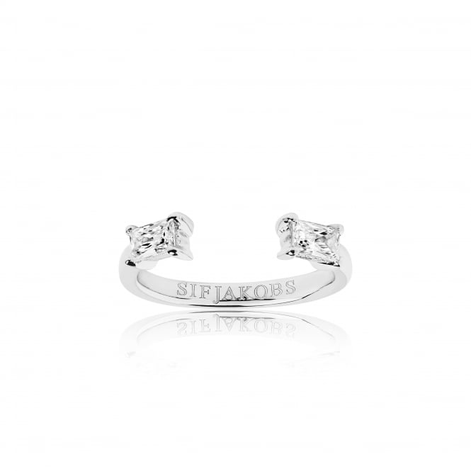 Sif Jakobs Antella Piccolo Ring with White Zirconia
