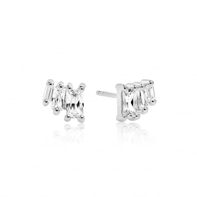 Sif Jakobs Antella Tre Earrings with White Zirconia