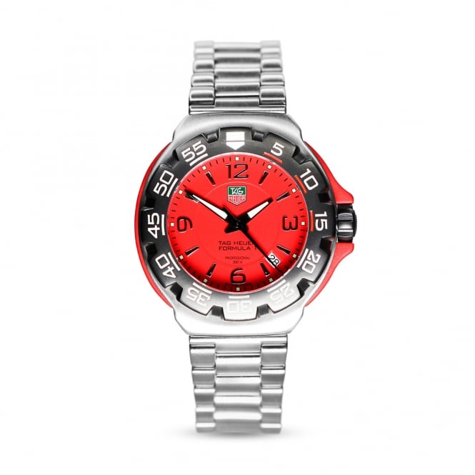Tag Heuer Formula 1 Stainless Steel Mens Watch WAC1113