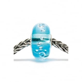 Trollbeads The Diamond Bead, Ice Blue