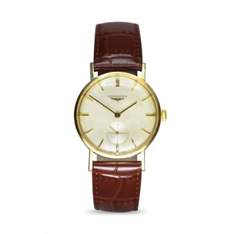 Vintage 9ct Longines Manual Wind Dress Watch